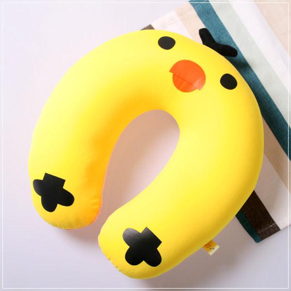 魔法Baby ~ 可愛卡通立體造型健康護頸枕/午睡枕 小雞(成人兒童皆適用)~c0044