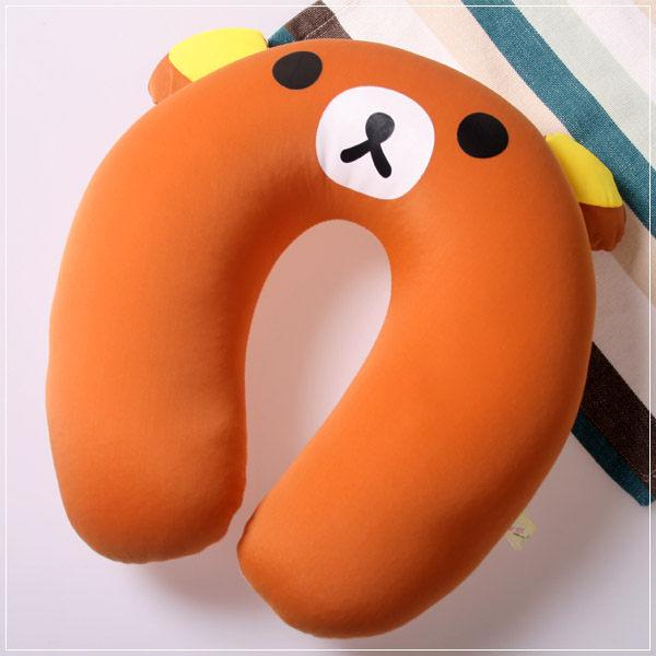 魔法Baby ~ 可愛卡通立體造型健康護頸枕/午睡枕 小熊(成人兒童皆適用)~c0045