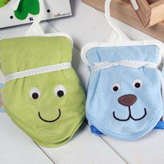 ★魔法Baby★五條一組純棉毛巾布兒童方巾~嬰兒用品~k17052