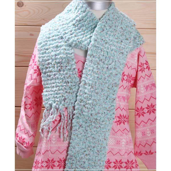 魔法Baby ~日本進口毛線純手工編織女童圍巾~外出用品~k00712 ~b