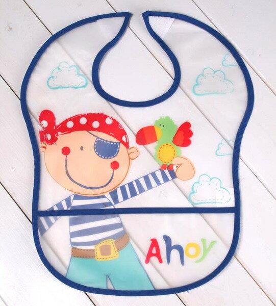 ★魔法Baby★寶寶用防水圍兜~嬰兒用品~k17069_g