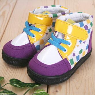 ★ 魔法Baby ★KUKI 酷奇時尚繽紛印花休閒童鞋☆女童鞋☆s4020