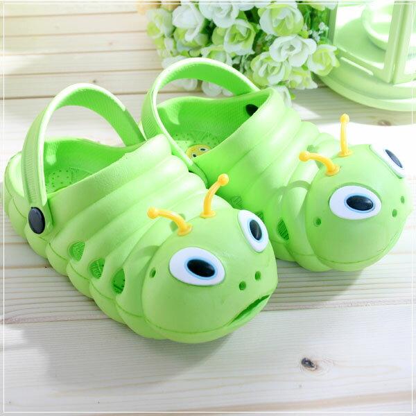 魔法Baby ~知名品牌 KUKI 酷奇毛毛蟲輕便鞋(草綠)~男女童鞋~s5973