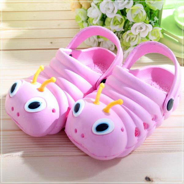 魔法Baby ~知名品牌 KUKI 酷奇毛毛蟲輕便鞋(粉紅)~男女童鞋~s5980