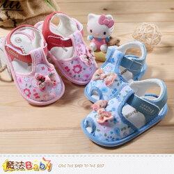 寶寶涼鞋~百貨專櫃正品女寶寶外出鞋~嬰兒鞋~魔法Baby~sh3911