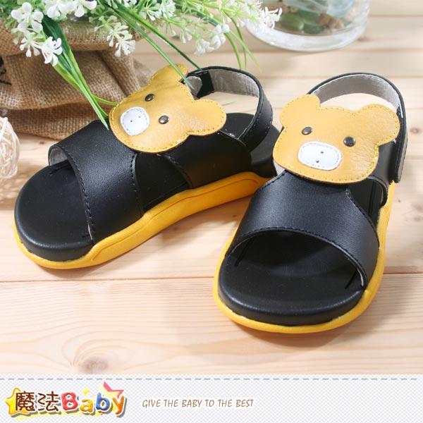 男童鞋~潮流透氣涼鞋~魔法Baby~sh3997