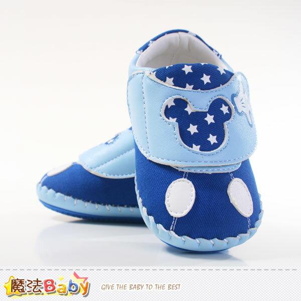 男寶寶專櫃鞋 迪士尼米奇寶寶鞋 魔法Baby^~sh4774