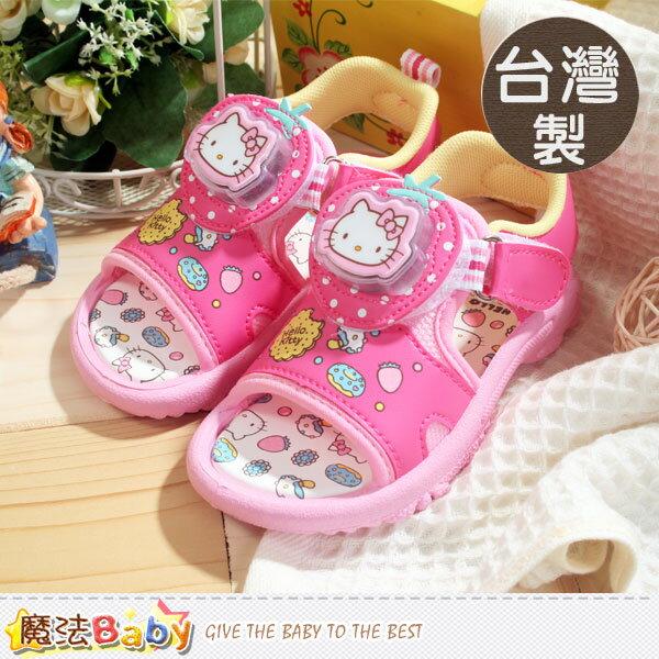 製專櫃款Hello Kitty閃燈鞋 魔法Baby^~sh5854