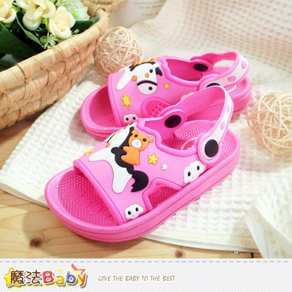 女童涼鞋 魔法Baby^~sh6202