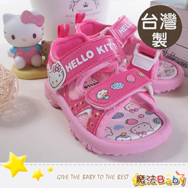 台灣製Holle kitty正版女童涼鞋 魔法Baby~sh6707