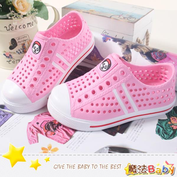 童鞋 超輕量中童水陸兩用輕便鞋^(30^~35^) 魔法Baby^~sh6869