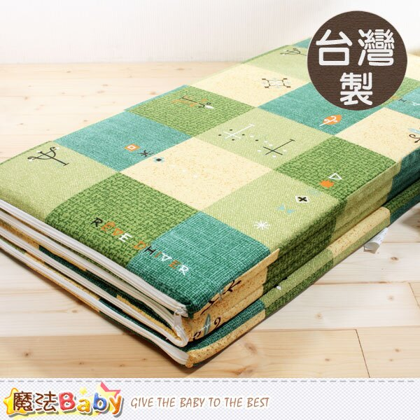 台灣製單人3x6尺4折透氣床墊 魔法Baby~u2104