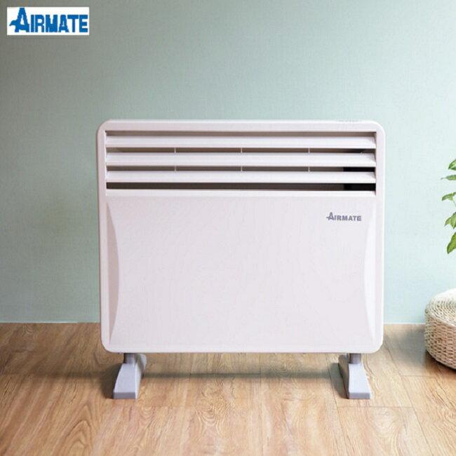 【AIRMATE 艾美特】居浴兩用防潑水對流式電暖器HC51337G(房間.浴室皆可壁掛使用*暖房加倍*)