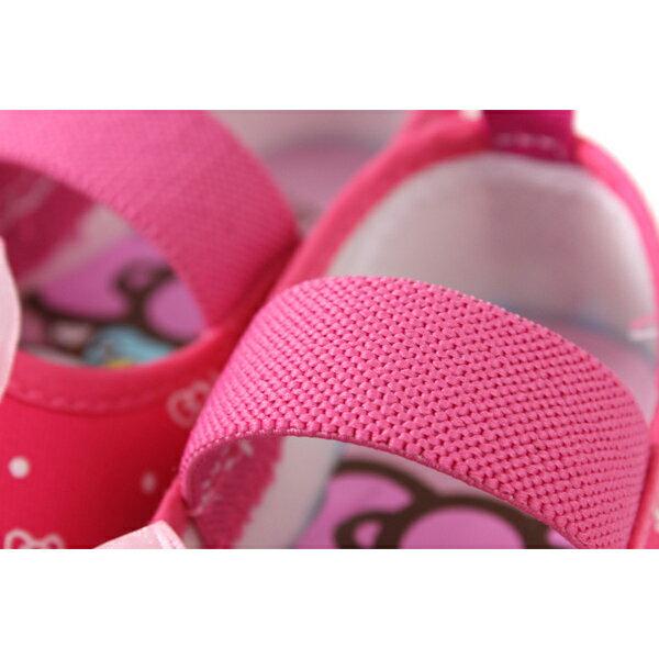 Hello Kitty 凱蒂貓 娃娃鞋 室內鞋 桃紅色 中童 童鞋 719818 no785 2