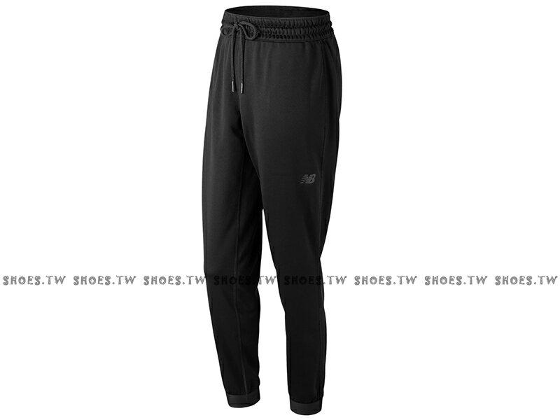 Shoestw【AWP73156BK】NEW BALANCE NB服飾 Tech Fleece 長褲 運動褲 縮口褲 NB DRY 保暖 內刷毛 黑色 無口袋 女生 0