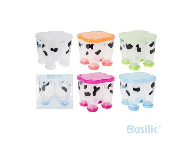 貝喜力克 Basilic 乳牛造型奶粉盒 320 ml  /  層 D058 1