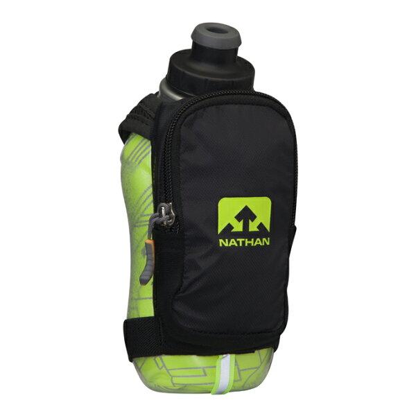騎跑泳者-NATHANSpeedShotPlusInsulated保冷反光手握壺355ML,三種顏色可選