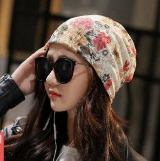 韓版孕婦夏季薄款帽產後月子帽四季產婦帽光療化療帽包頭帽蕾絲花
