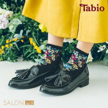 【靴下屋Tabio】紗質花卉棉質短襪日本職人手做