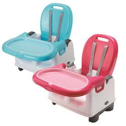 奇哥 攜帶式寶寶餐椅 天空藍/ 玫瑰紅『121婦嬰用品館』