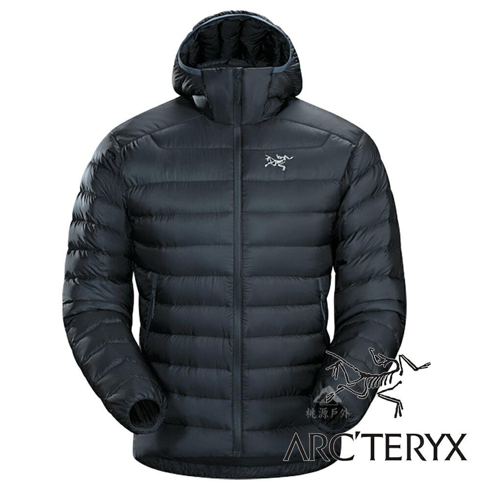 【Arc''''teryx 始祖鳥】男 Cerium LT 羽絨外套 (防潑水處理.膨脹係數850.超輕)『夜景藍』L06918 保暖外套