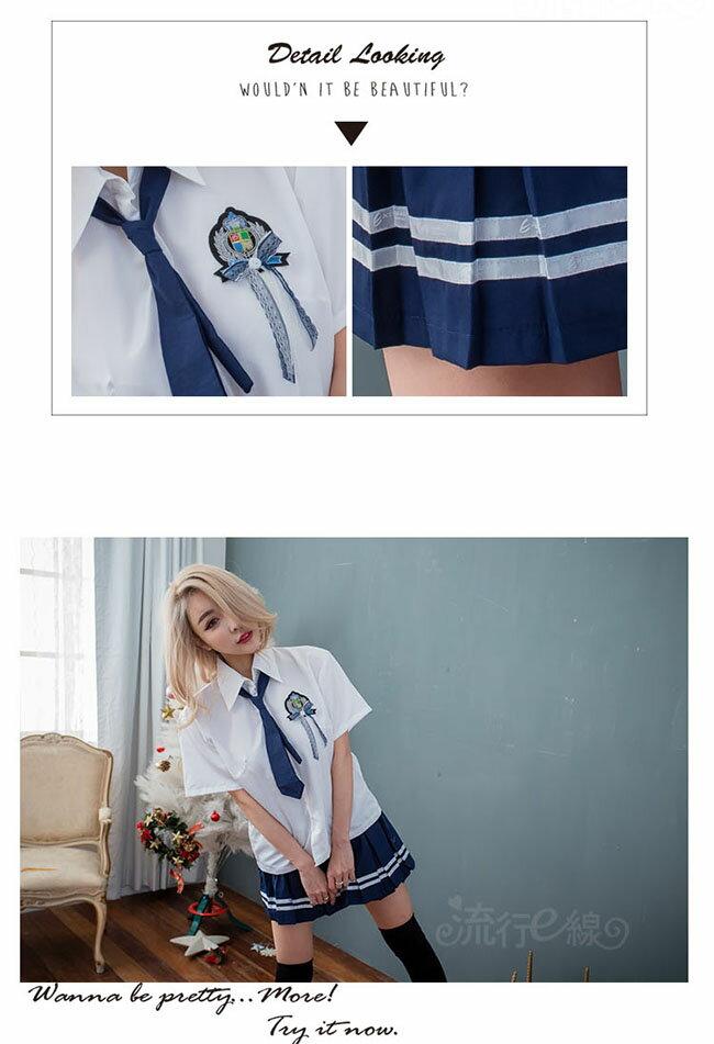 水手服 日系cosplay服裝角色扮演水手服水手制服-流行E線A7197