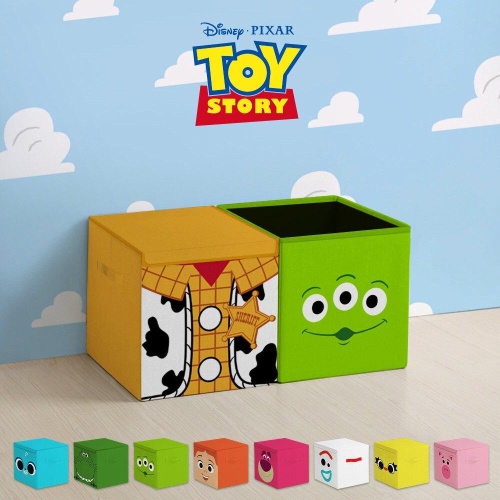 【  APP滿666折50滿3千點數回饋11~23%】玩具總動員方形摺疊收納箱(10款任選) 0