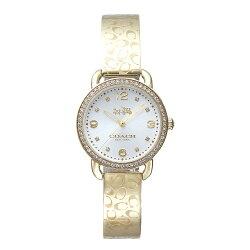 COACH 漫步巴黎時尚手鐲腕錶/金/14502354