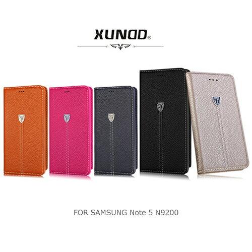 XUNDD 5.7吋 NOTE 5/N9208/NOTE5 貴族系列 側掀/吸合皮套/書本翻頁式側掀保護套/側開插卡手機套/斜立支架/保護殼