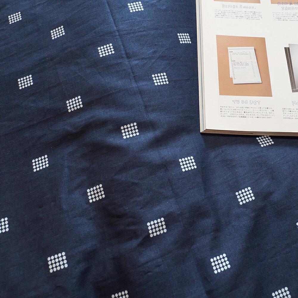 海軍藍 枕套  100%精梳棉 台灣製 7