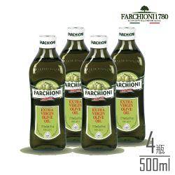 38限定【義大利經典】法奇歐尼特級冷壓初榨橄欖油500ml小綠瓶 X4