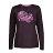 【POLAR BEAR】女蜂巢刷毛圓領長袖T恤-19T26 0
