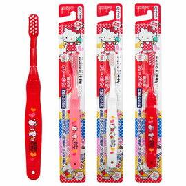 日本製 - Hello Kitty 兒童牙刷(3~6歲) 1入 39元【顏色隨機出貨】