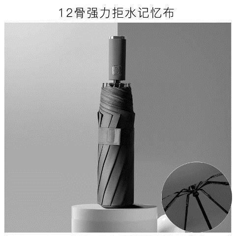 全自動輕奢折疊雨傘遮陽傘高品質碳素鋼雙層防紫外線男女款太陽傘