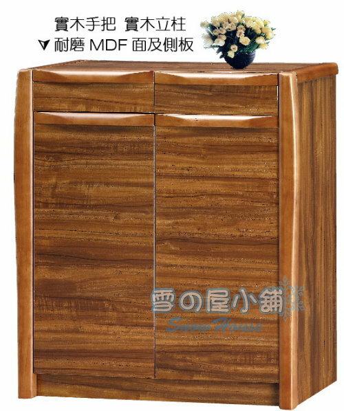 ╭☆雪之屋居家生活館☆╯R10鞋櫃(MDF)BB396-1#7968B