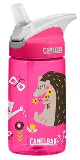 【【蘋果戶外】】美國Camelbak兒童彈跳式吸管水瓶悠閒刺蝟400ml0.4L0.4公升登山水壺單車水壺