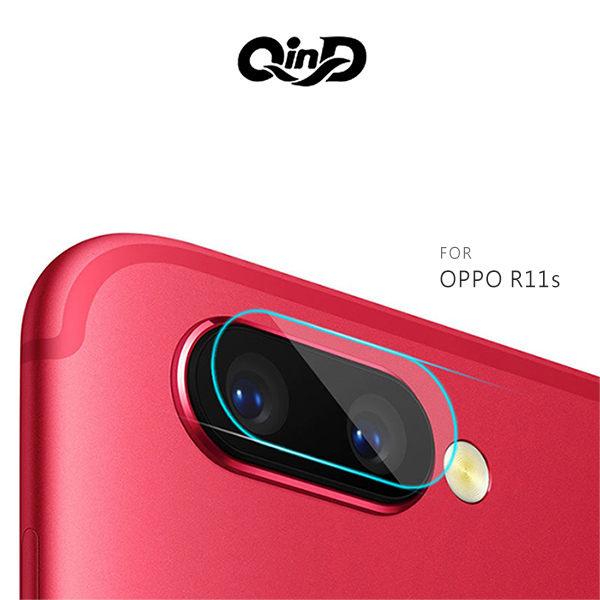 【愛瘋潮】QinD OPPO R11s 鏡頭玻璃貼(兩片裝) 鏡頭貼 保護貼 玻璃貼預購