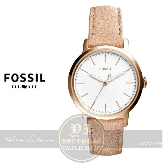 FOSSIL美國品牌都會名媛時尚腕錶ES4185公司貨/情人節禮物