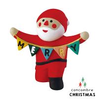 幫家裡聖誕佈置裝飾推薦聖誕佈置壁貼到Decole 聖誕老人 - 拉旗幟的聖誕老公公   Concombre ( ZXS-26334 ) 現貨 推薦聖誕交換禮物 聖誕佈置裝飾推薦就在文五雙全x文具五金生活館推薦幫家裡聖誕佈置裝飾