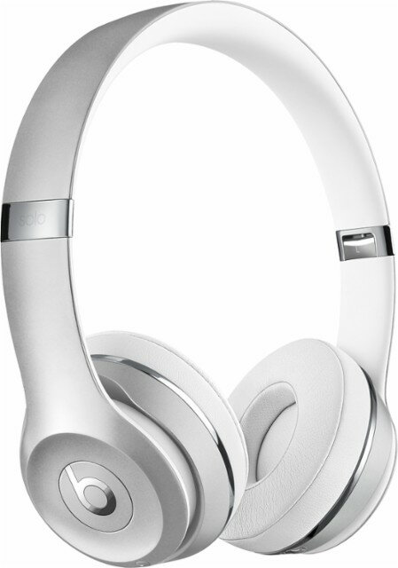 Beats Solo3 Wireless On-Ear Headphones - Silver 0