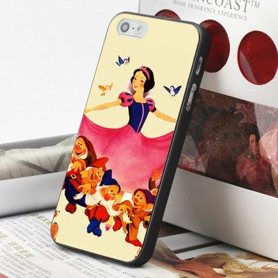 [機殼喵喵] Apple iPhone 6 6S i6 i6P i6S 手機殼 外殼 客製化 水印工藝 WZ100 白雪公主