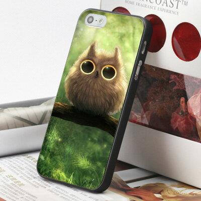 [機殼喵喵] Apple iPhone 6 6S i6 i6P i6S 手機殼 外殼 客製化 水印工藝 WZ158 貓頭鷹