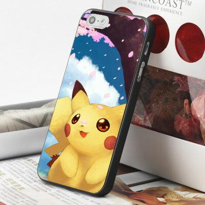[機殼喵喵] Apple iPhone 6 6S i6 i6P i6S 手機殼 外殼 客製化 水印工藝 WZ173 皮卡丘