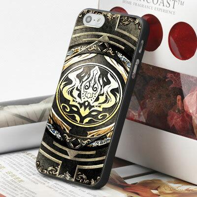 [機殼喵喵] Apple iPhone 5S 5G 5 i5 iP5 手機殼 外殼 客製化 水印工藝 WZ254 神魔之塔 創世黑金卡