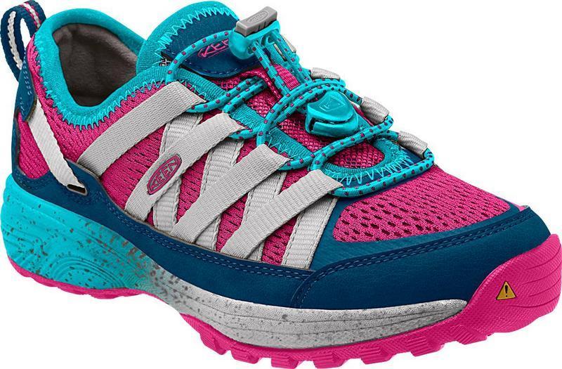 零碼特價KEEN 兒童登山鞋/休閒鞋/護趾越野鞋/健行鞋 1014741 粉/台北山水