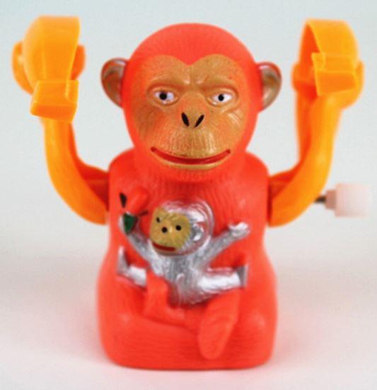 上鏈滾動香蕉猴猴