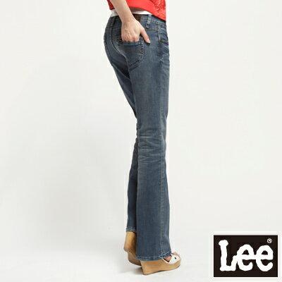 ~單一價↘899~Lee 408 中腰靴型褲 ~女款^(牛仔藍^)~04 14單筆訂單滿8