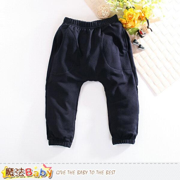 兒童長褲 秋冬休閒束口長褲 魔法Baby~k60417