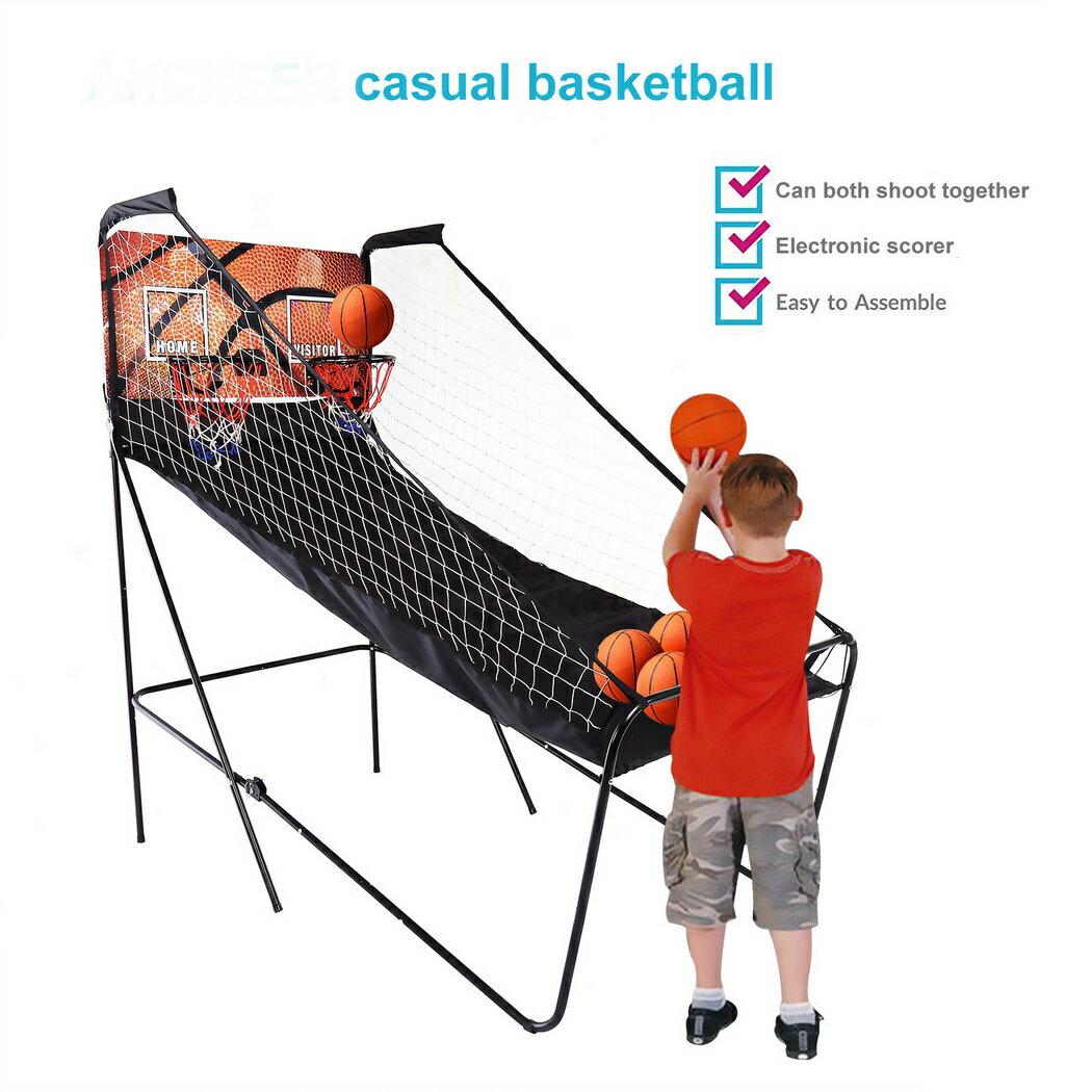 Basketball Double Shot Arcade System Foldable 0