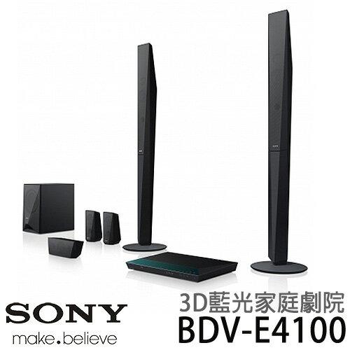 【滿3千,15%點數回饋(1%=1元)】SONY 新力 BDV-E4100 3D 藍光 家庭劇院